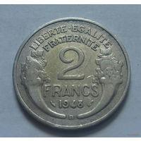 2 франка, Франция 1948 В