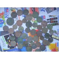 Монеты 40 шт
