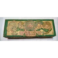 Оригинальная коробка от набора Ёлочных игрушек РЕПКА!!! Всего три дня