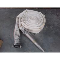 Шланг (рукав) пожарный 20м. с алюминиевым стволом