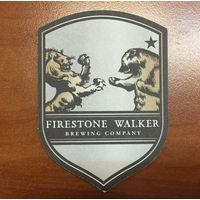 Подставка под пиво Firestone Walker Brewing Company /США/