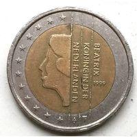Нидерланды 2 евро 1999