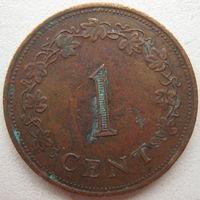 Мальта 1 цент 1977 г. (g)