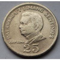 Филиппины, 25 сентимо 1970 г.