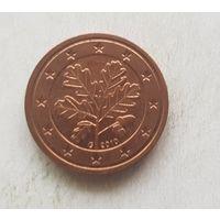2 евроцента 2010 Германия G