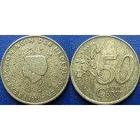 Нидерланды, 50 евроцентов 2001 года