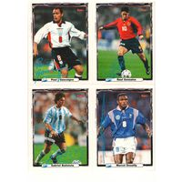 "Карточки 4 шт (коллекция журнала ""Bravo Sport"" Испания)"