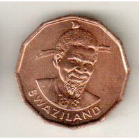 Свазиленд 1 цент 1975 ФАО
