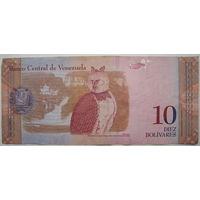 Венесуэла 10 боливар 2007 г. (u)