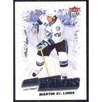 НХЛ сезон 2008-2009 FLEER Ultra Difference Makers MARTIN ST.LOUIS