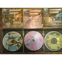 Первые три диска из серии Drum & Bass
