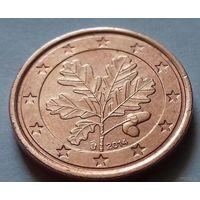1 евроцент, Германия 2014 J