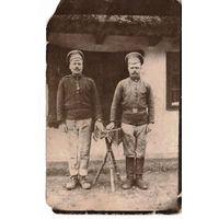 Фото для родителей с Австро-венгрии в Могилевскую губернию, Гомельского уезда, Кормянской волости. 8 января 1917г.