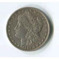 Морган доллар 1885г.
