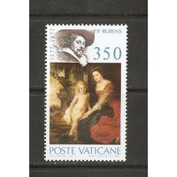1977 Ватикан ЖИВОПИСЬ, РУБЕНС