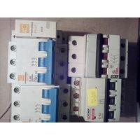 Автоматические выключатели 3-х фазные 3по20 а,1-63 а