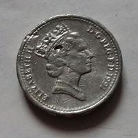 1 фунт, Великобритания 1991 г.