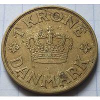 Дания 1 крона, 1934      ( 1-4-4 )