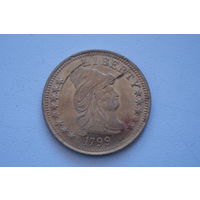Монетка США 1799,  копия, 33 мм