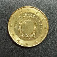 Мальта, 20 евроцентов