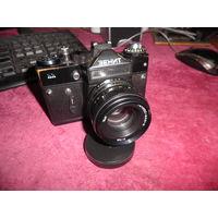 С 1 рубля!Фотоаппарат Зенит-11 с объективом Гелиос 44М-4,2/58.