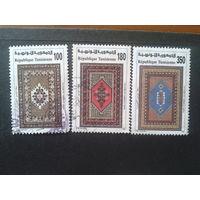 Тунис 1993 ковры