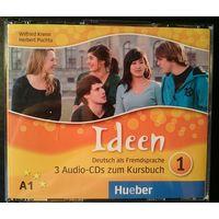 Ideen 1 Audio-CDs zum Kursbuch (3 диска к учебнику)