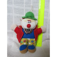Клоун(мягкая игрушка)-2