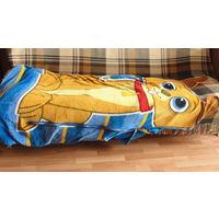 Плед на молнии детский 170см на полуторную кровать.