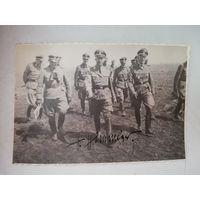 Фотография Генриха Гиммлера с автографом.
