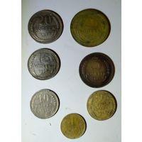 Годовой набор монет СССР 1928г