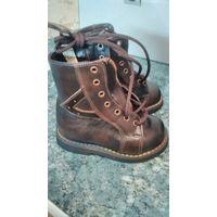 Ботиночки кожаные деми ортопедические лечебные (вальгус) 13,7см
