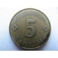 Латвия 5 сантимов 1992 г.