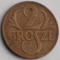 Польша, 2 гроша 1937 года, Y#9a