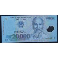 Вьетнам. 20 000 донг 2014 полимер [UNC]