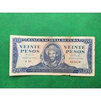 Редкая банкнота Куба лот 8