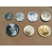 Свазиленд Набор 7 монет 1999-2008
