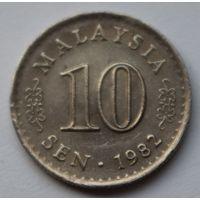 Малайзия 10 сен, 1982 г.
