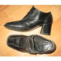 Ботинки кожаные р.36