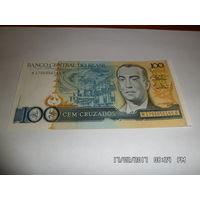 Бразилия 100 крузейро