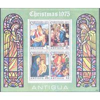 АНТИГУА\р65\1975 Рождество Живопись Искусство Картины