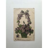 Антикварная открытка 1908 год