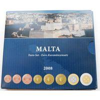 25. Набор евро, Мальта 2008 год.