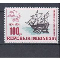 [1319] Индонезия 1974.Парусник.