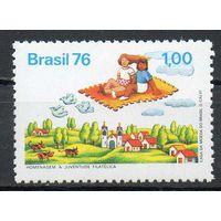 Филателия Бразилия 1976 год чистая серия из 1 марки (М)
