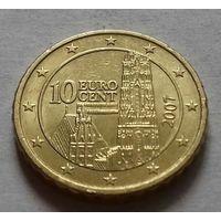 10 евроцентов, Австрия 2007 г.