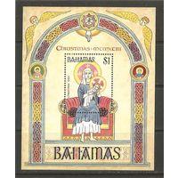 1993 Багамы Живопись Рождество