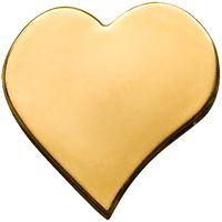 """Палау 1 доллар. """"Сердце"""".  Монета в капсуле; сертификат. ЗОЛОТО 0,5гр."""
