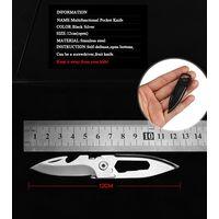 Нож 7 см карманный, портативный из нержавеющей стали, для выживания. распродажа