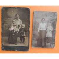 """Фото кабинет-портрет """"Мать и дети"""", до 1917 г."""